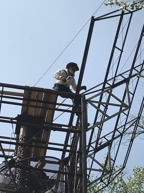 Tower of Power II: Hoisting a Panel Rack